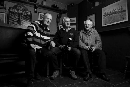3 ould Lads in a pub by Francis Foley
